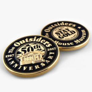 The Outsiders Anniversary Coin