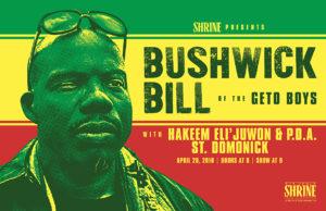 Bushwick Bill Poster Design