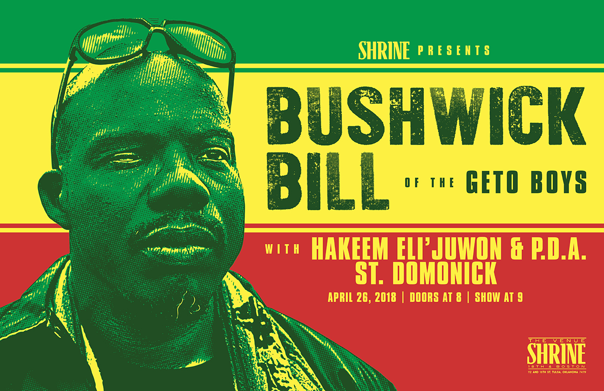 Bushwick Bill Poster Design