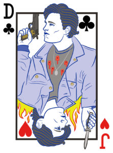 Dally & Johnny Playing Card